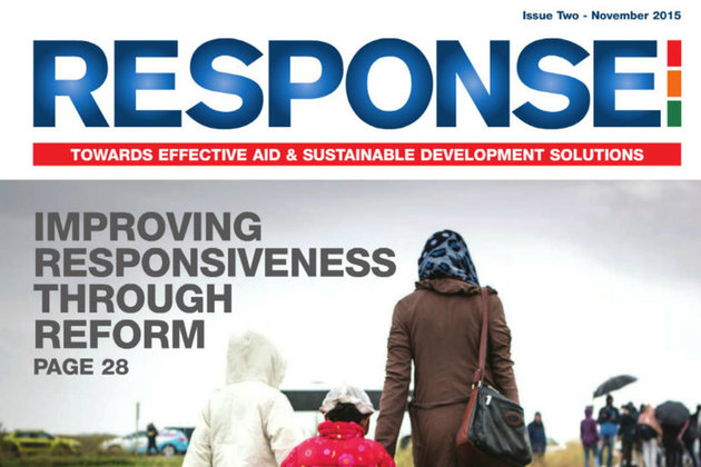Cover of Response magazine Issue 2
