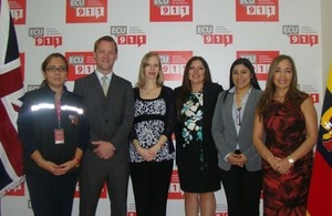 Informative event for the British community at ECU-911 in Guayaquil