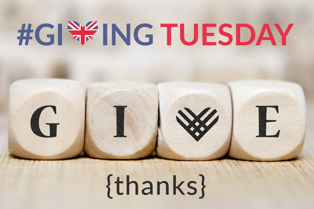 #GivingTuesday 'give thanks' dice