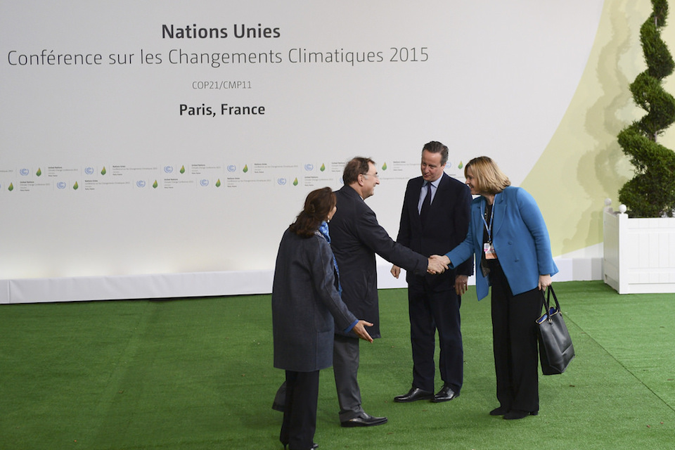 David Cameron delivers speech at COP21 in Paris