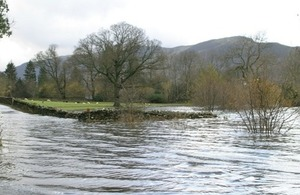 Photo of Keswick floods in 2009 by David Burton on Flickr. Used under Creative Commons.