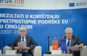 British ambassador to Montenegro speaks at Western Balkans IPA conference