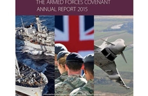 The Armed Forces Covenant Annual Report has been published. Crown Copyright.