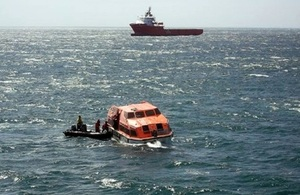 Rescue underway  (Pic: Royal Navy)