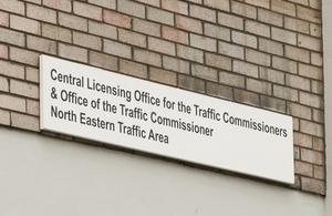 Leeds office sign