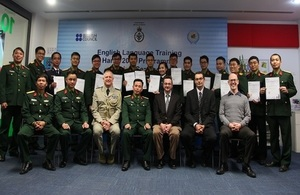 English Language Training for Vietnam's Defence Officers'