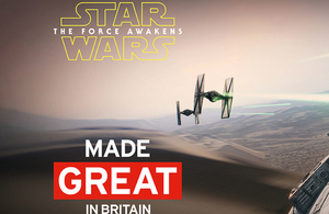 Star Wars made GREAT in Britain: 'INSPIRATION' with Jessica Ennis-Hill