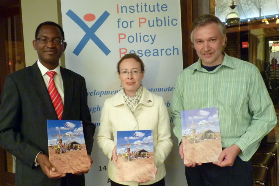HE Mrs Young with Mr Noa, ACC and Mr Hopwood, IPPR