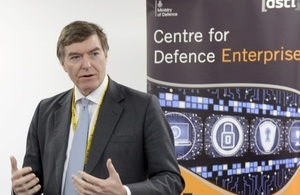 MinDP announcing winners of Defence Growth Partnership Innovation Challenge
