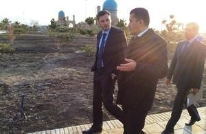 British Ambassador visits regions in Uzbekistan