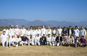 Cricket Match Grp Pic