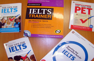 IELTS UKVI sessions in Ashgabat