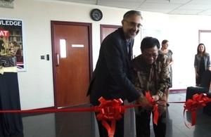 British Ambassador opens new Visa Application Centre in Surabaya