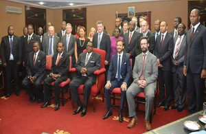 High Commissioner with APM and British Investors
