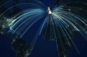 Global investment and exporting light paths
