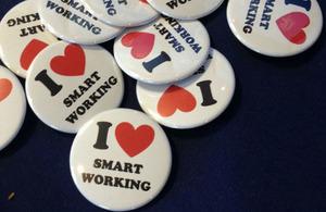 'Smart working' badges