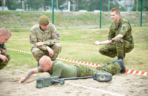 """""""Meeting with soldiers from the Scouts Battalion Estonia"""""""