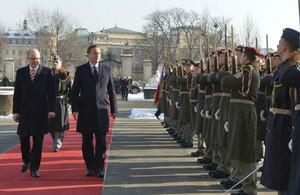 PM David Cameron in Prague