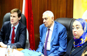 "Ambassador John Casson visits ""My Right"" Centre in Cairo"