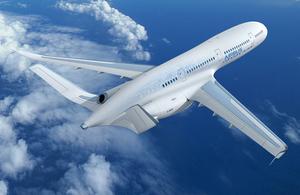 Airbus concept plane. Copyright Airbus 2011.
