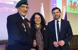 Legion d'Honneur ceremony