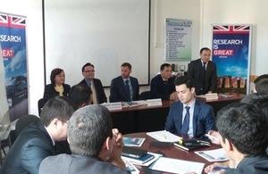 Research collaboration between UK and Uzbekistan