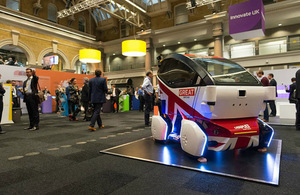 Driverless car at Innovate 2015