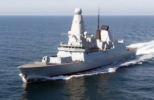 HMS Defender is one of the world's most advanced warships.