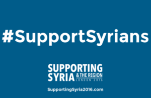 Support Syrians conf.