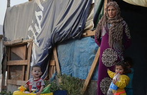UK to invest an extra £1.2 billion supporting Syria and the region