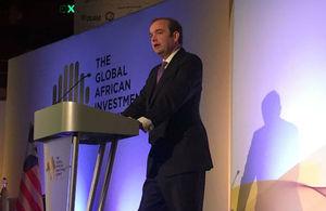 UK's Minister for Africa