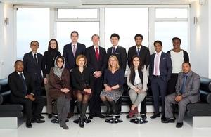 Uzbek Delegate takes part in the International Leaders Programme