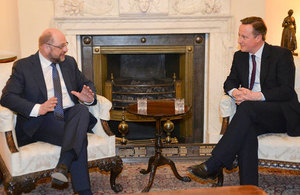 PM meets with President of the European Parliament