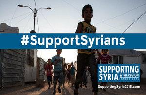 #SupportSyrians