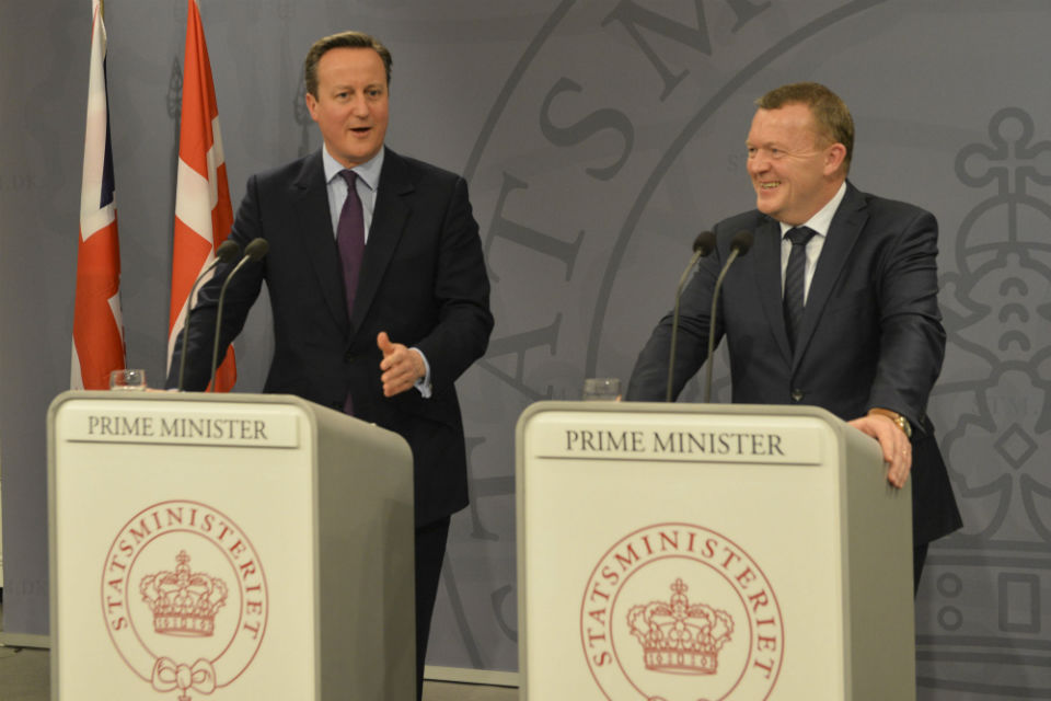 PM press conference in Copenhagen