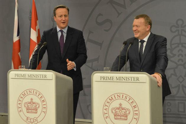 PM press conference in Copenhagen