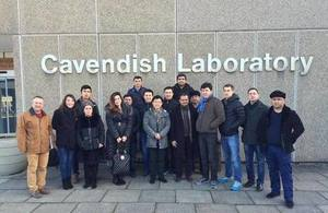 First business study tour from Uzbekistan to the UK