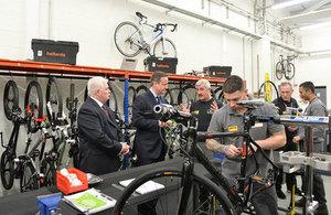 PM visits HMP Olney