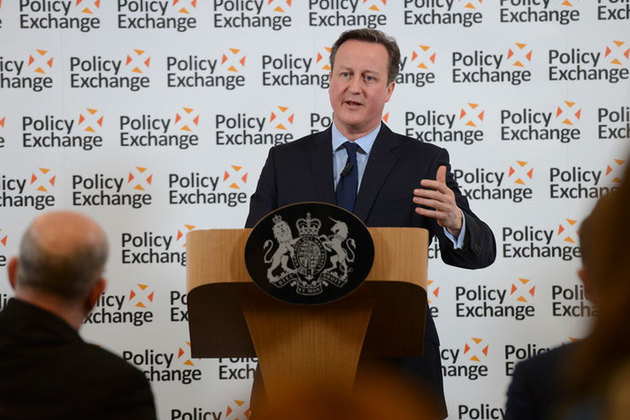 PM prison reform speech at Policy Exchange