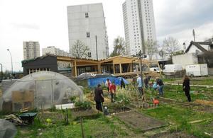 The R-Urban Agrocité community garden, Paris (credit: xkidx/CC BY-SA 2.0)