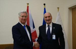 Defence Secretary at the NATO Defence Ministerial in Brussels