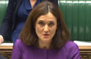 Secretary of State Theresa Villiers