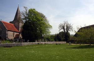 Rural village church