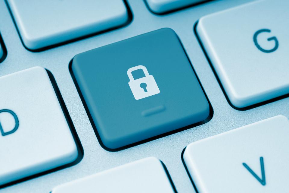 A representation of secure digital data