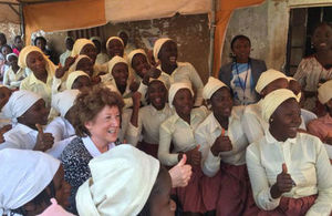 Baroness Anelay in Nigeria