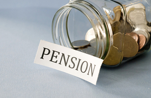 Pensions pot image