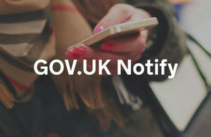 GOV.UK Notify