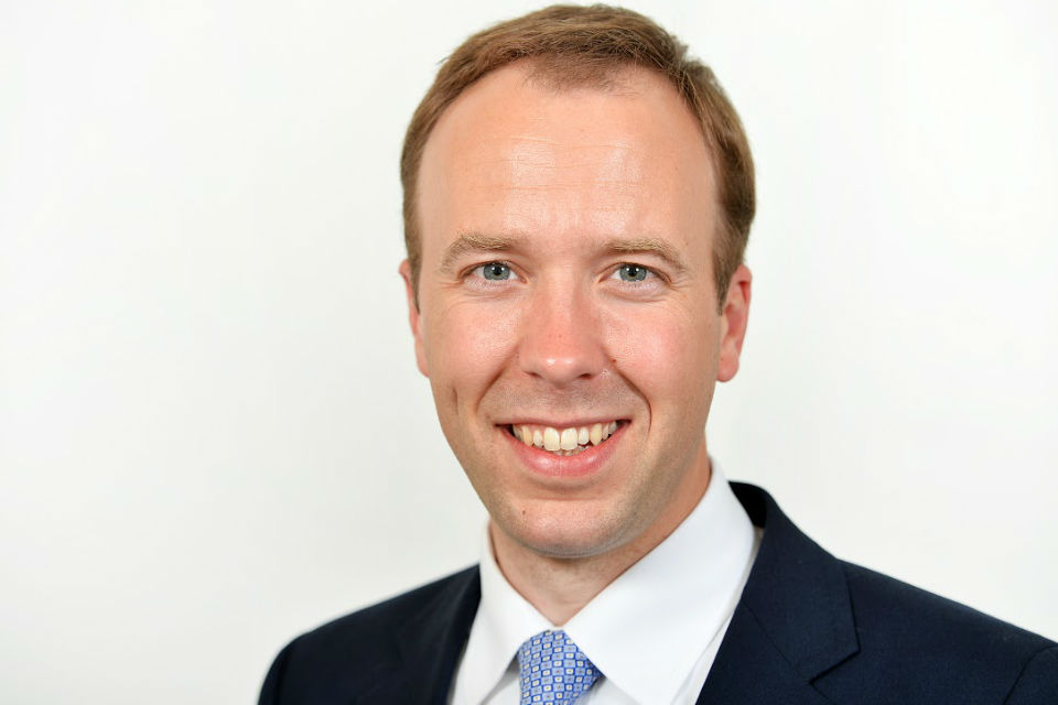 The Rt Hon Matt Hancock MP
