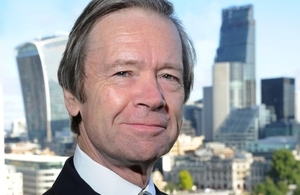 Photo of The Lord Mayor of the City of London, Jeffrey Mountevans