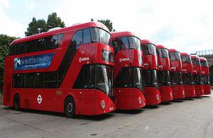 Wrightbus routemaster buses